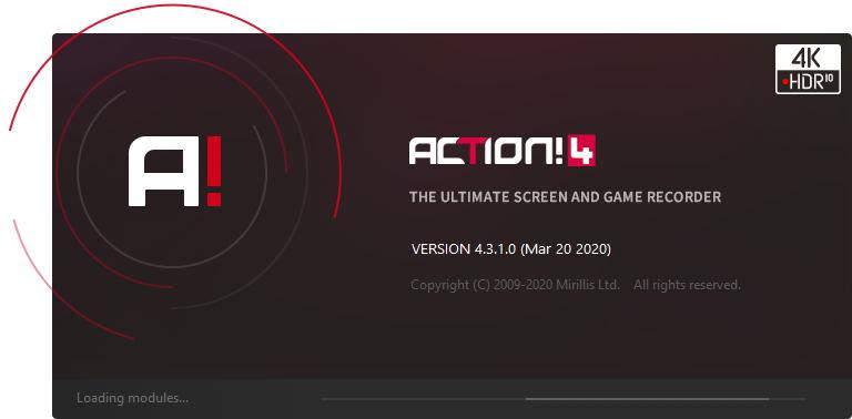 [屏幕录像]Mirillis Action!高清屏幕录像软件下载,Mirillis Action! 4.6.0 中文免激活绿色便携版